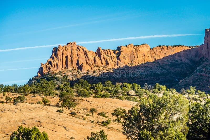 Monumento nazionale navajo immagine stock