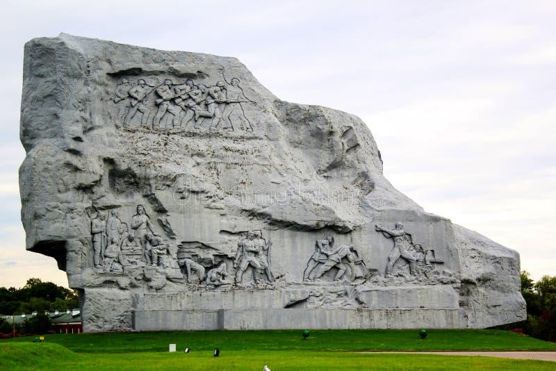 Monumento nella fortezza di Brest fotografia stock