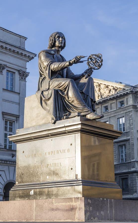Monumento a Nicholas Copernicus imagens de stock