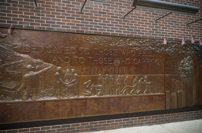 Monumento Nueva York del cuerpo de bomberos imágenes de archivo libres de regalías
