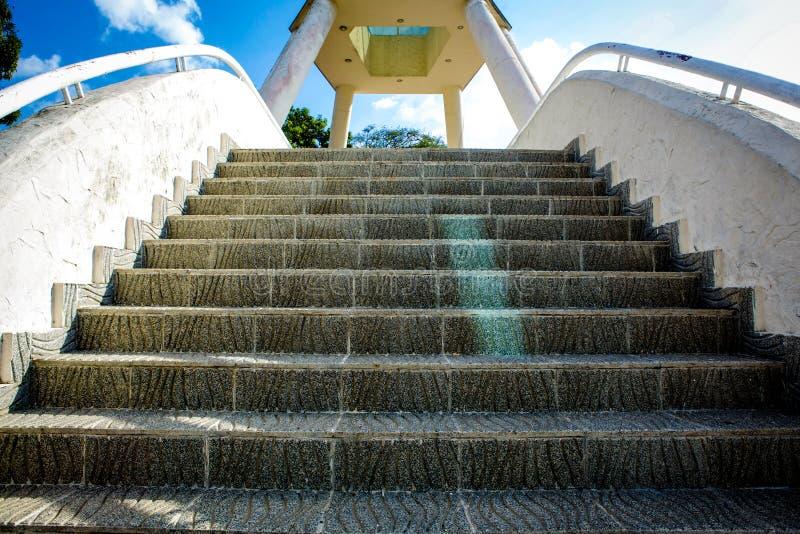Monumento Panamá das escadas imagens de stock