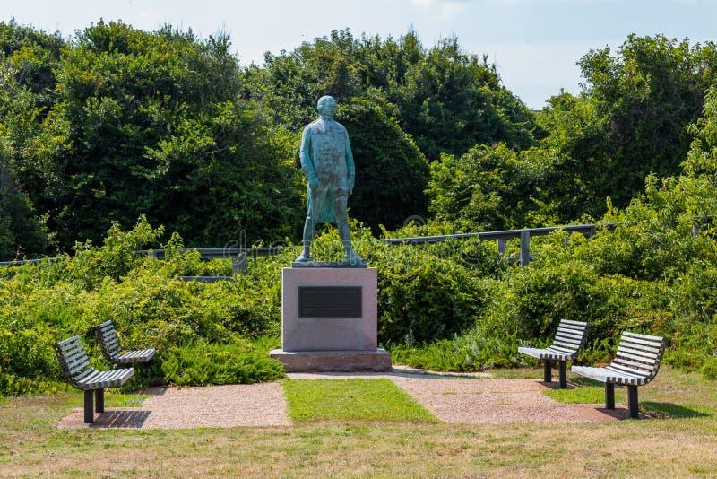 Monumento para almirante Francois Joseph Paul de Grasse imagen de archivo