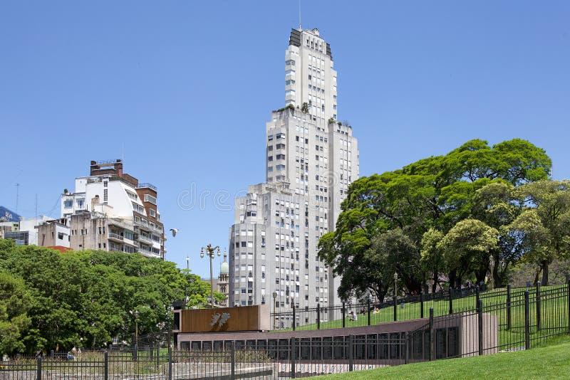 Monumento para caido en la Malvinas, Buenos Aires, la Argentina fotografía de archivo