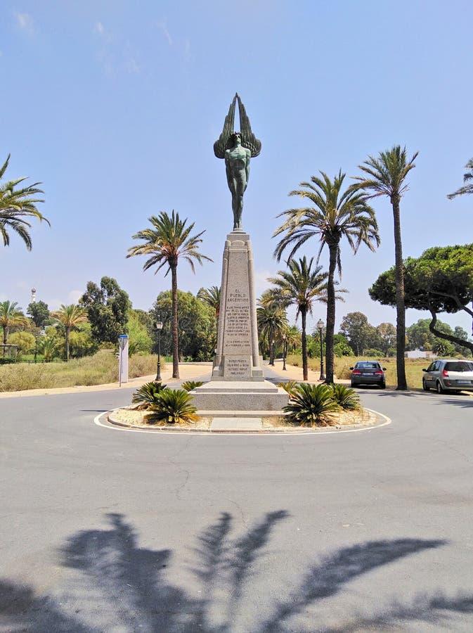 Monumento plus ultra, la Spagna immagini stock libere da diritti