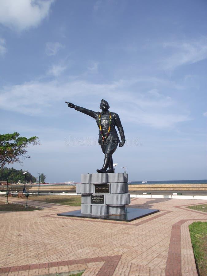 Monumento in Port Blair fotografia stock
