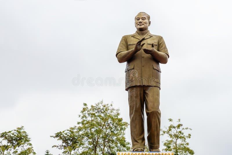 Monumento a presidente Souphanouvong fotografie stock