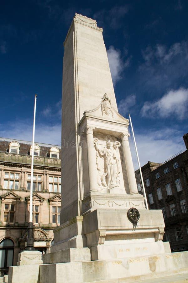 Monumento Preston, Inglaterra de la guerra. fotos de archivo