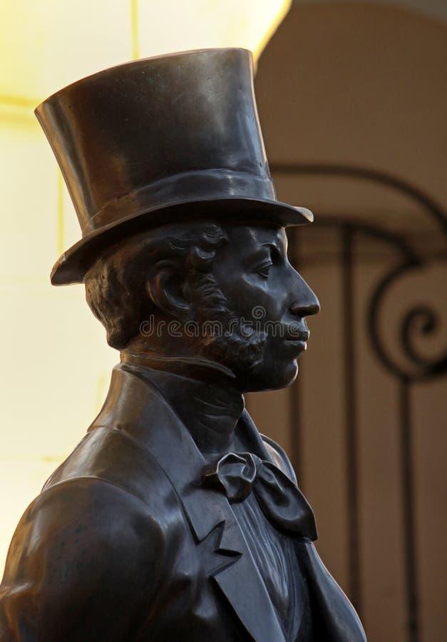 Download Monumento a Pushkin fotografia stock. Immagine di particolare - 30830180