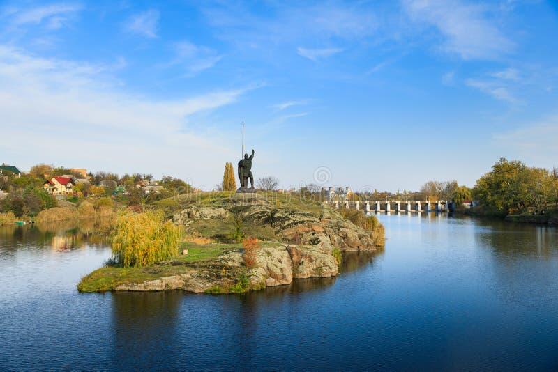 Monumento Rosich, Ucrania fotografía de archivo