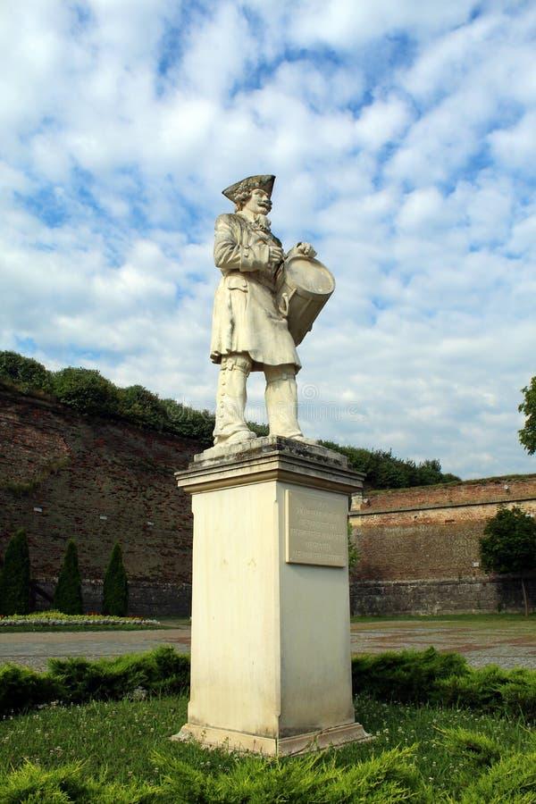 Monumento rumeno del soldato fotografie stock libere da diritti