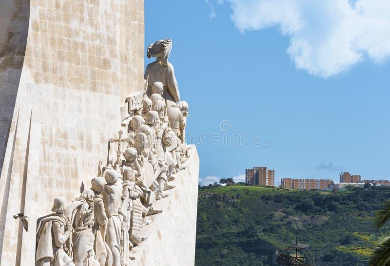 Monumento ?s descobertas fotografia de stock