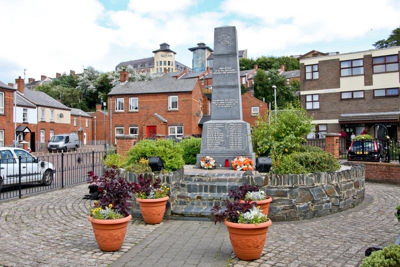 Monumento sangriento de domingo, Derry, Irlanda del Norte imagenes de archivo
