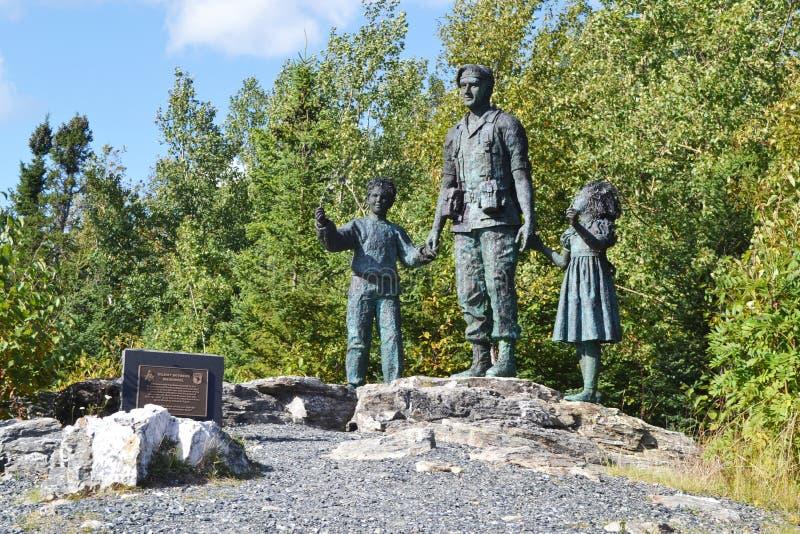 Monumento silencioso del testigo imagen de archivo libre de regalías