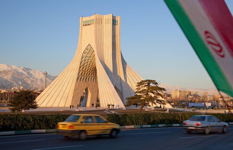 Città di Teheran immagini stock libere da diritti