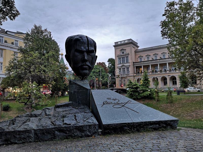 Monumento a Sophia - Stefan Stambolov fotografía de archivo