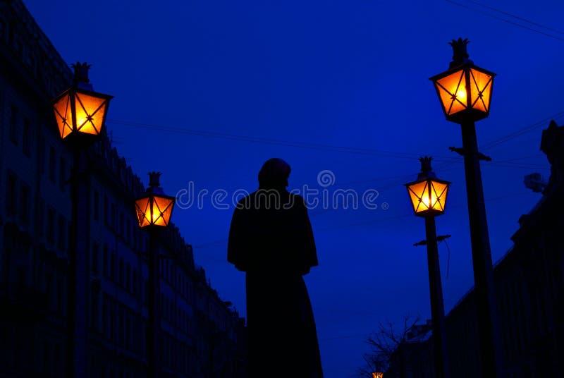Monumento a St Petersburg immagini stock