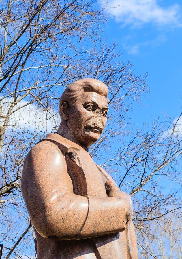 Monumento a Stalin Parque de ` de Museon del ` de los artes Moscú, fotos de archivo