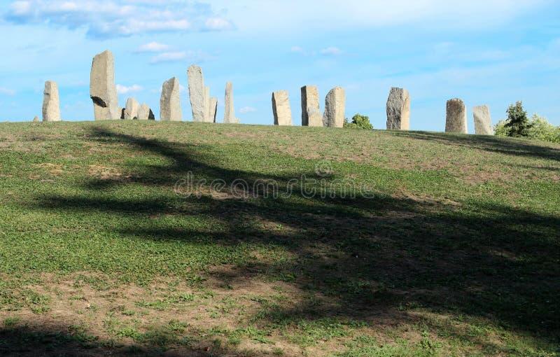 Monumento Stonehenge di somiglianza di Anciernt immagini stock