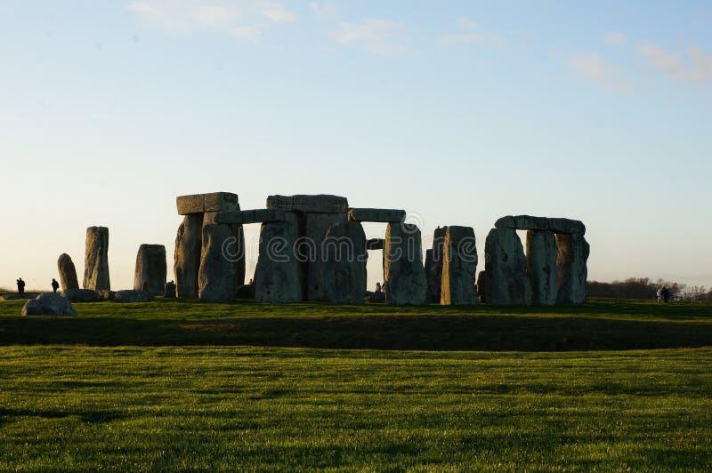 Monumento Stonehenge in Inghilterra fotografia stock