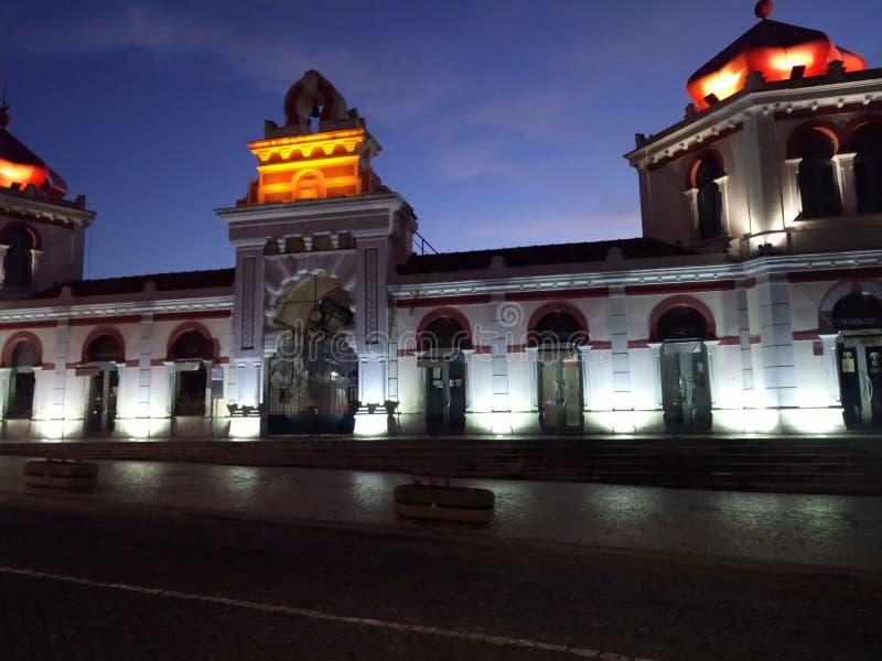 Monumento tradicional do mercado imagem de stock