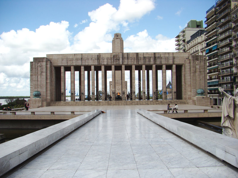 Monumento um la Bandera #4 fotografia de stock royalty free