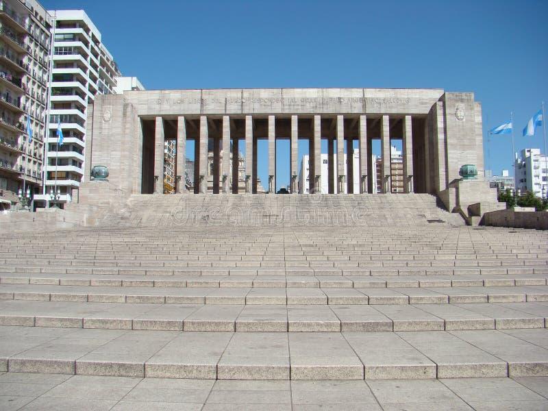 Monumento um la Bandera em Rosario, Argentina fotografia de stock royalty free