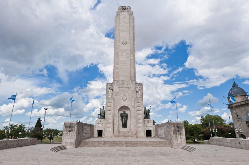 Monumento um la Bandera situado em Rosario imagem de stock royalty free