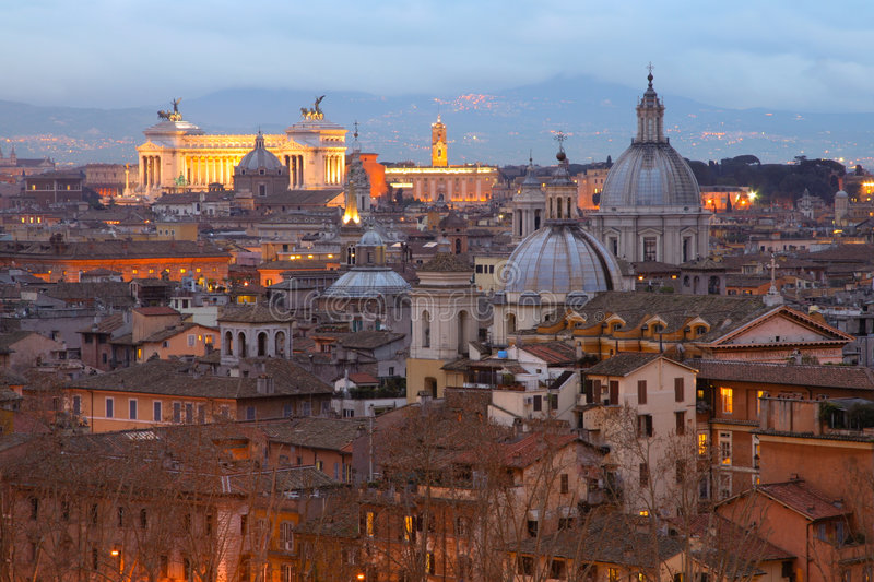 Della Patria de Altare, Roma foto de stock royalty free