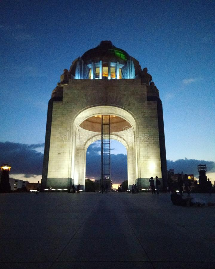 Monumento un ³ n de revolucià de La photographie stock libre de droits