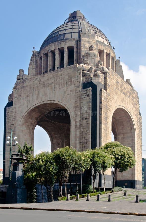 Monumento une La Revolucion Mexico photos stock