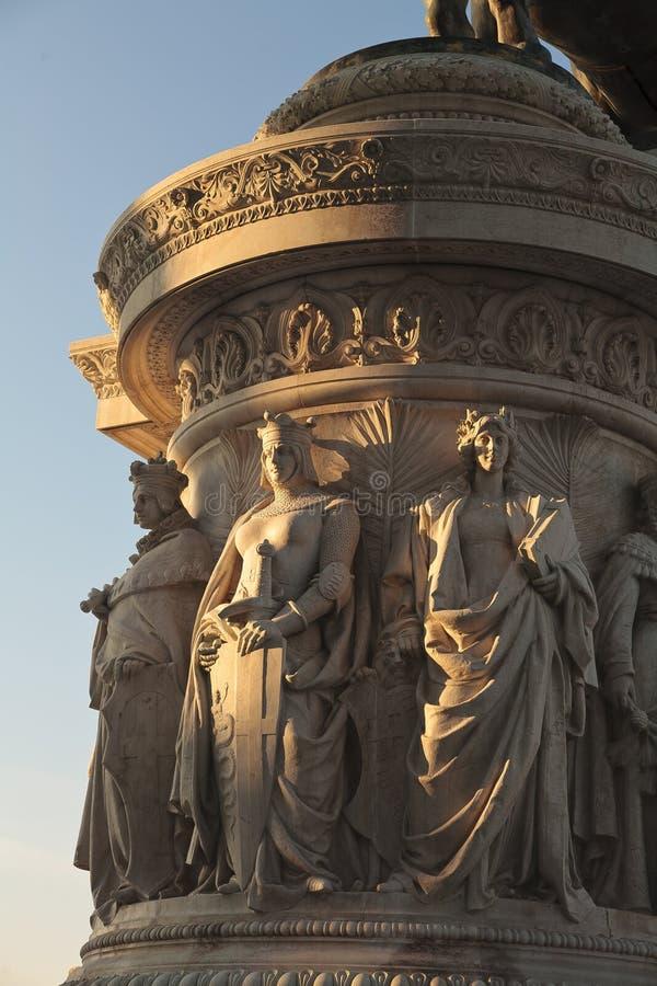 Monumento a Vittorio Emanuele   immagine stock
