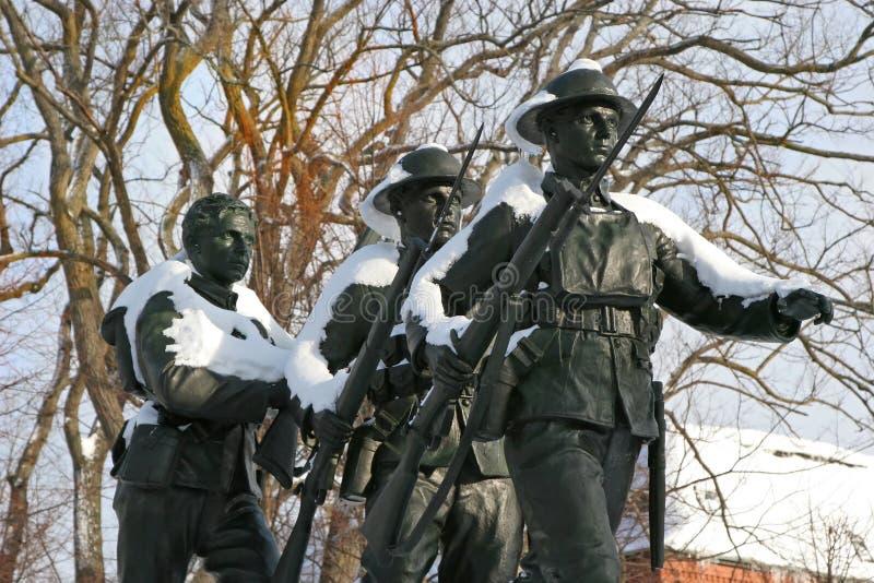 Monumento WW1 imagens de stock