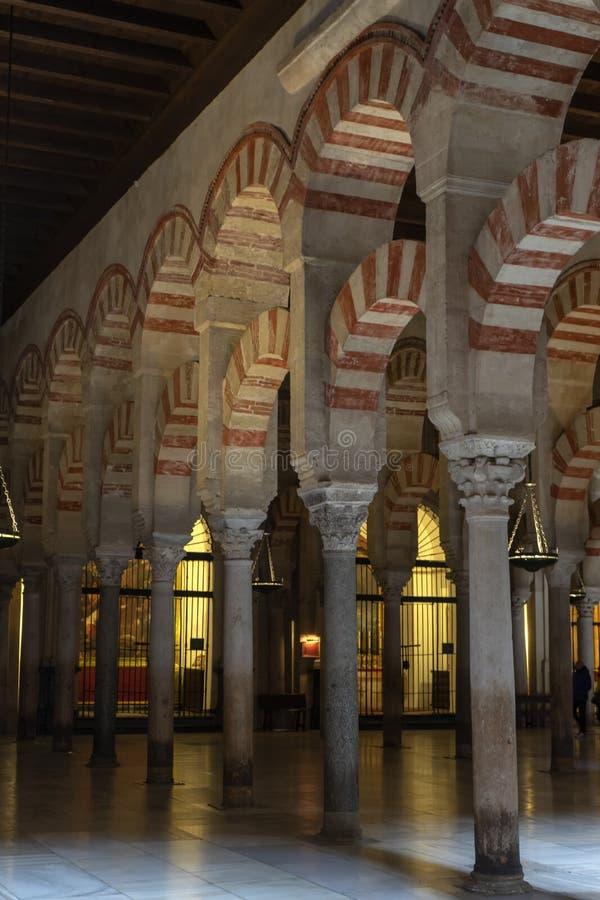 Monumentos de la ciudad de Córdoba, la mezquita, Andalucía imagen de archivo libre de regalías