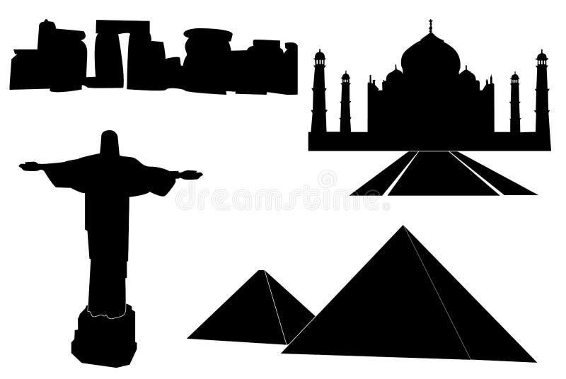 Monumentos del mundo libre illustration