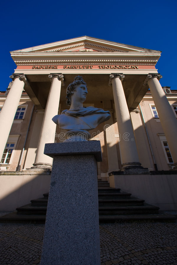 Monumentos no Wroclaw, Poland imagens de stock royalty free
