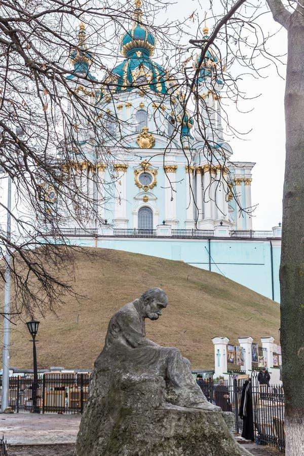 monumentshevchenkotaras till arkivbilder