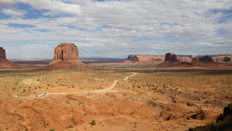 Monumenttal Montagne USA stockbilder