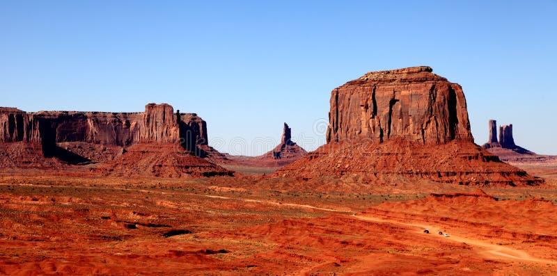 Monumentvalley U.S.A. fotografia stock libera da diritti