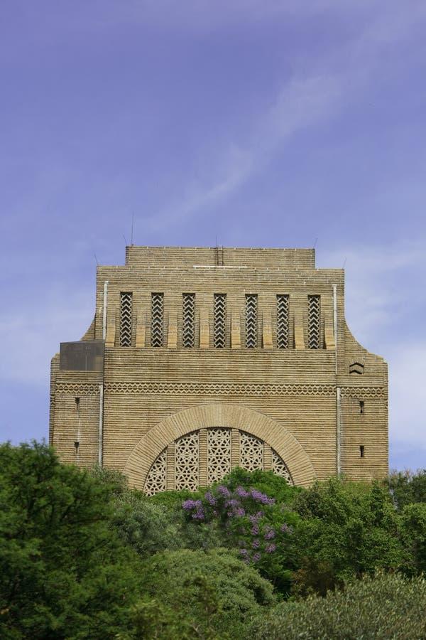 monumentvoortrekker arkivbild
