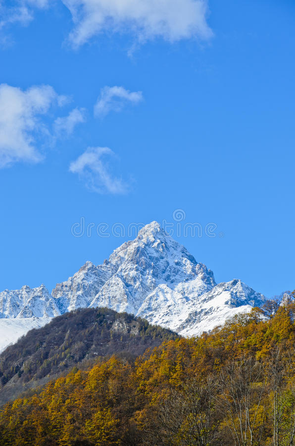 The Monviso Royalty Free Stock Images
