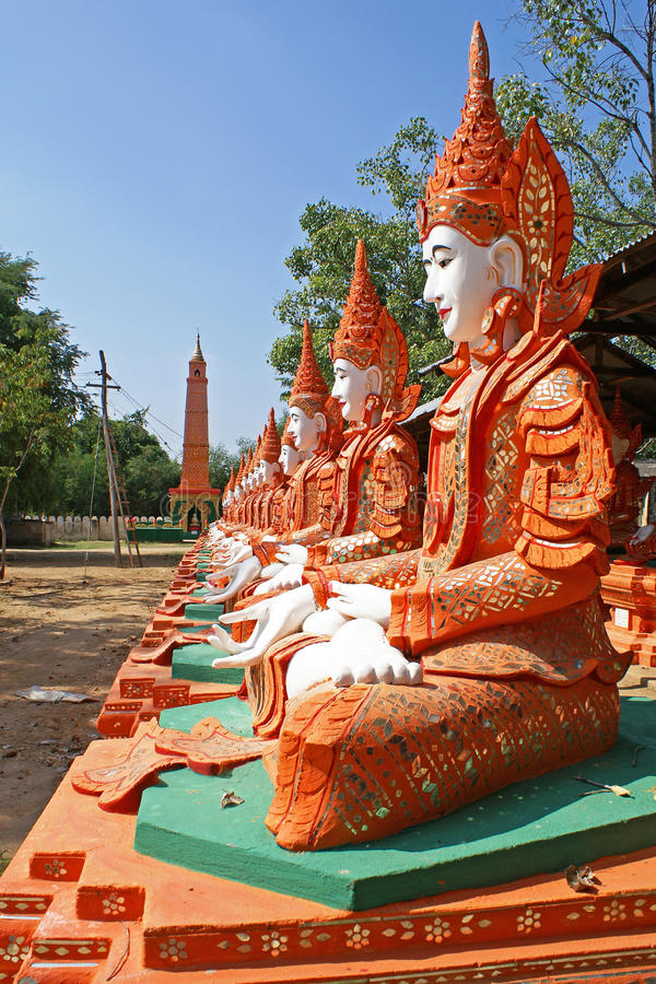 Monywa, Myanmar image libre de droits