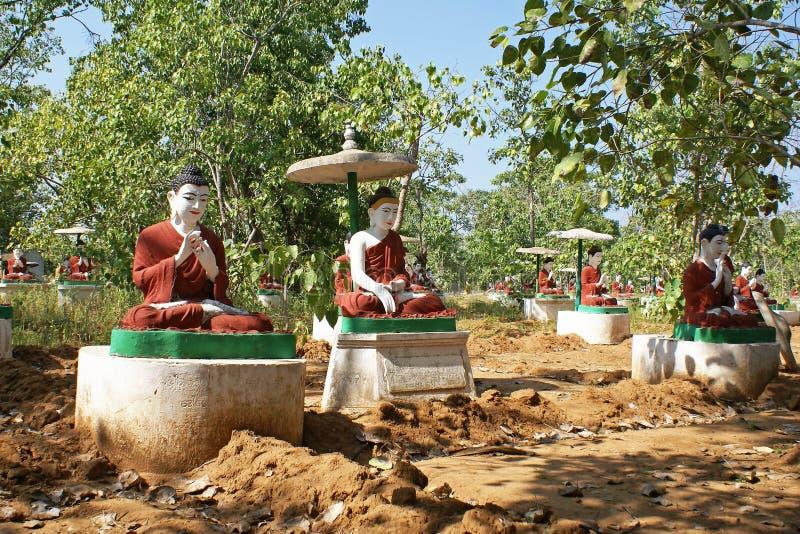 Monywa, Myanmar photographie stock libre de droits