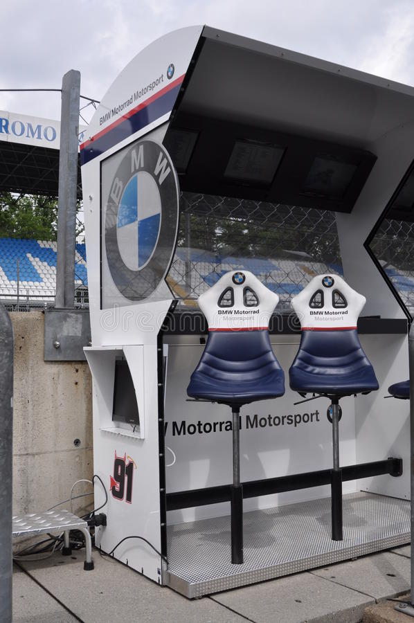 Download Monza 2012 - BMW Motorrad Motorspot Pit Wall Editorial Photography - Image: 24754182