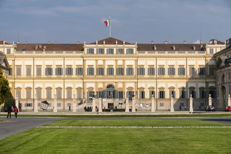 Monza (Italia): palazzo reale fotografia stock libera da diritti