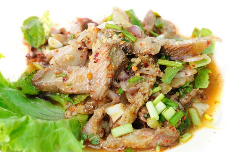 Moo Nam Tok stock image
