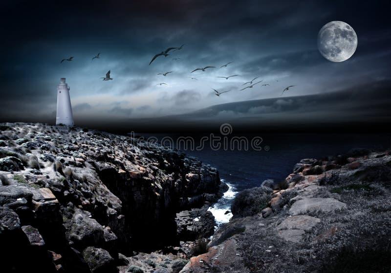 Download Mood Change stock image. Image of scary, night, coast - 13546207