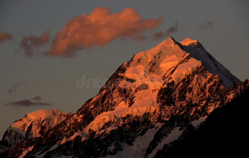 Moods of Mount Cook (9) royalty free stock photo
