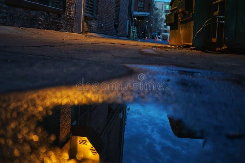 Moody Alleyway fotografie stock