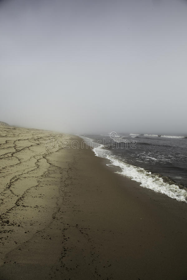Free Moody Beach In Wellfleet, MA Cape Cod. Royalty Free Stock Image - 64949486