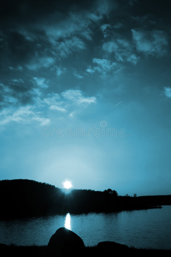 Download Moody Blues stock photo. Image of dusk, peaceful, tree - 118164